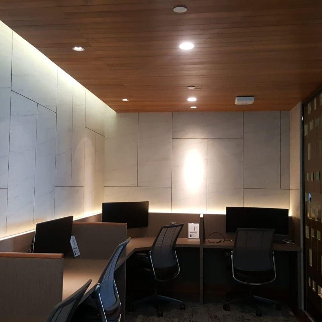 plafon kayu solid jati / merbau