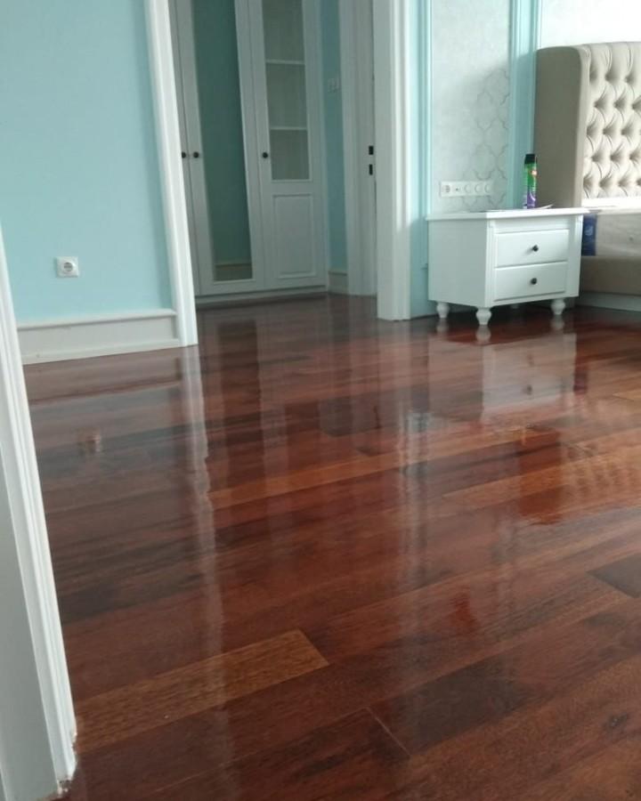 lantai kayu parket jati / merbau